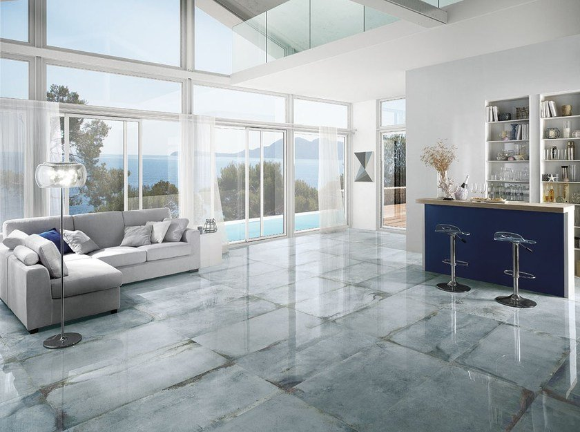 Porcelain stoneware flooring with stone effect LASCAUX KIMBERLY by La Fabbrica