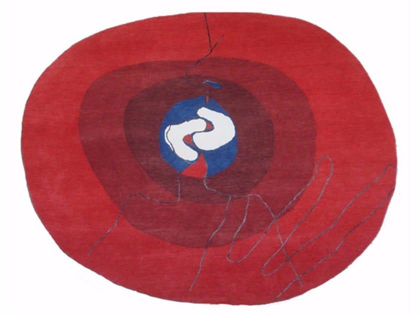 Handknotted rug KISS | Rug - sans tabù
