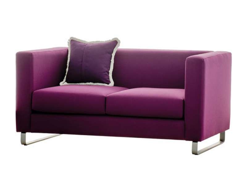 Fabric small sofa KISS | Small sofa - SANCAL
