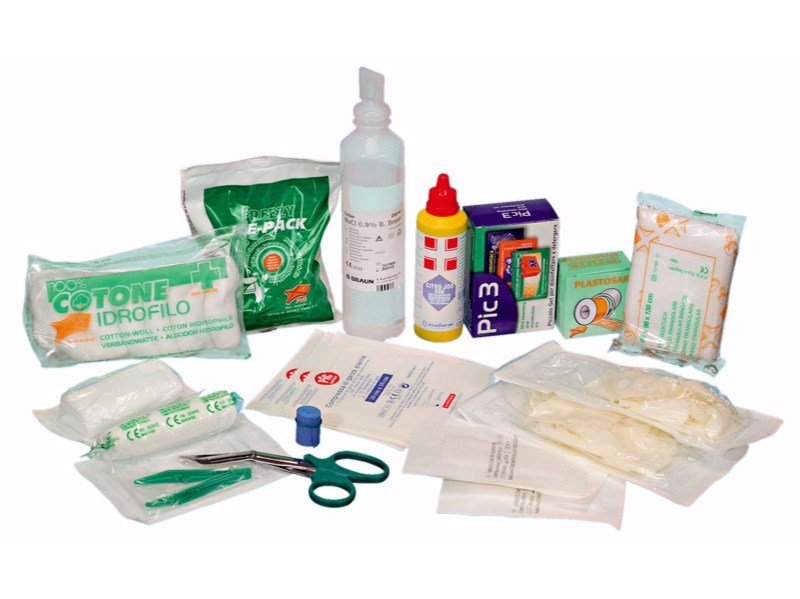 First Aid cabinet Refill set for first-aid case, a2 - Würth