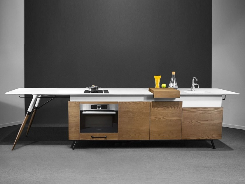 Cucina in Corian® KITCH' T ® by dsignedby