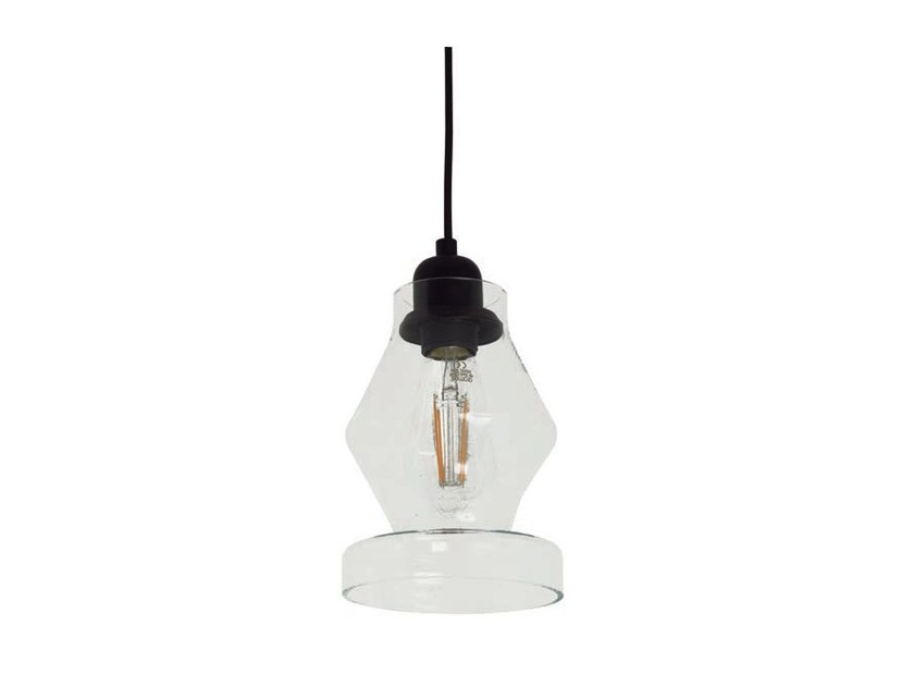 Glass pendant lamp KITTA | Glass pendant lamp - Aromas del Campo