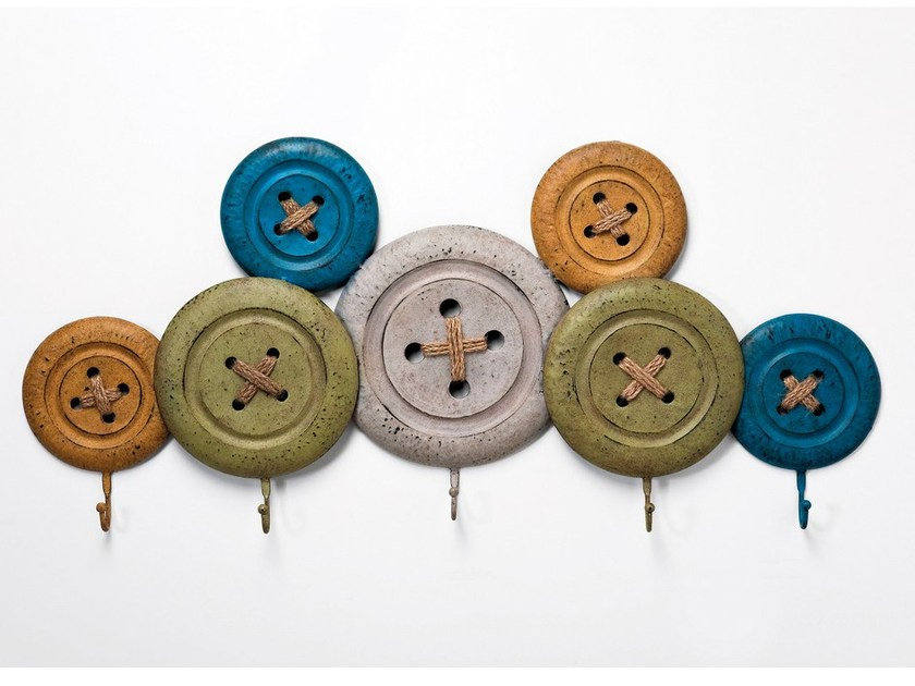 Wall-mounted coat rack KNOBS - KARE-DESIGN