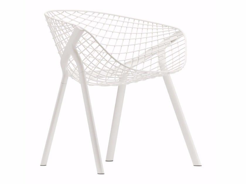 Steel chair KOBI CHAIR - 040 by Alias