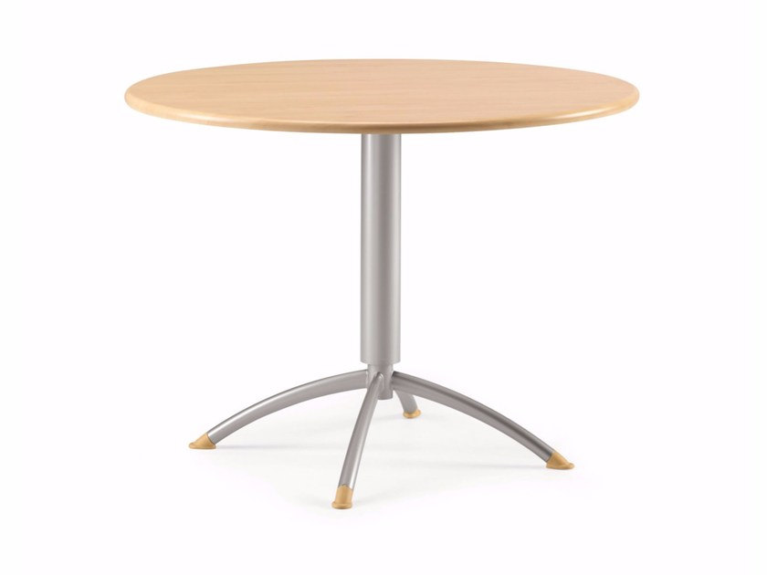 Round MDF contract table KOMBY 946 - TALIN
