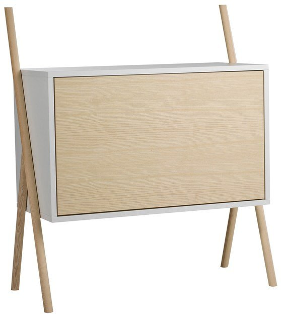 Highboard with flap doors KOMMOD Small by kommod
