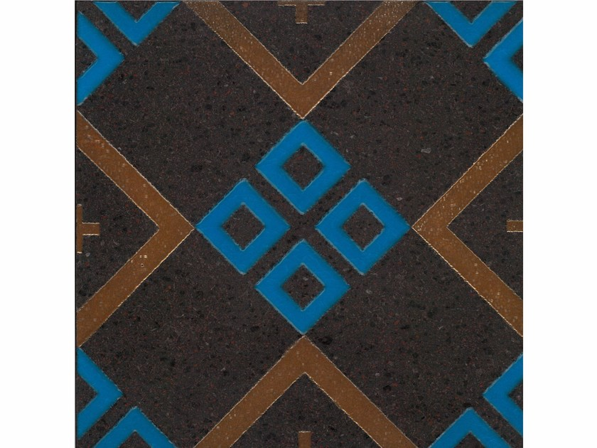 Lava stone wall/floor tiles KOMON TATTO KT22 by Made a Mano