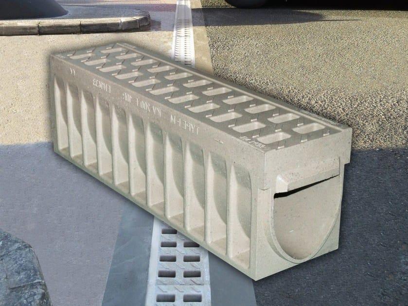 Elemento e canale di drenaggio in calcestruzzo polimerico KOMPAQDRAIN ® - Ulma Architectural Solutions