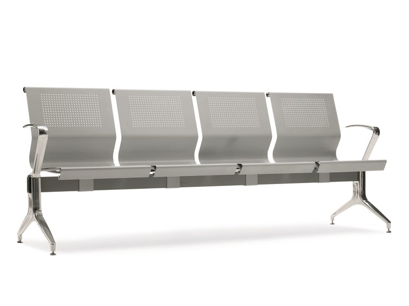 Seduta su barra a pavimento in acciaio KONE | Seduta su barra - Emmegi