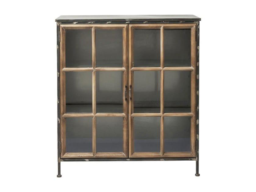 Credenza in legno e vetro con ante a battente KONTOR | Credenza in legno e vetro - KARE-DESIGN