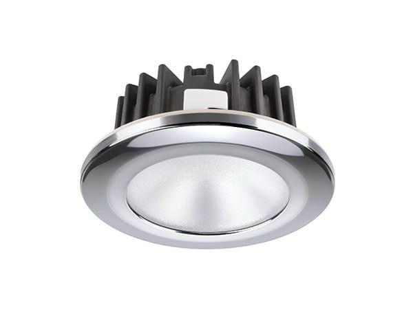 LED recessed stainless steel spotlight KOR XP - HP - 4W - Quicklighting