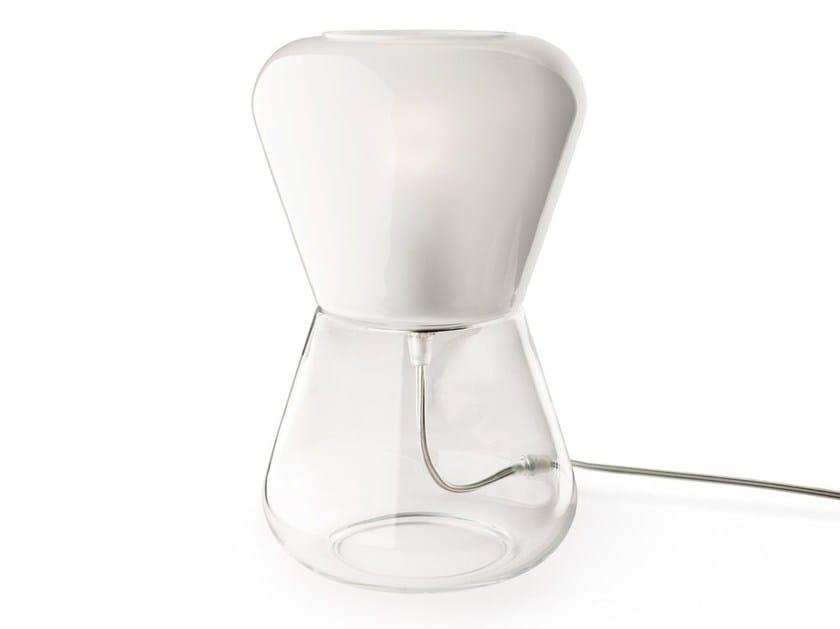 Handmade Murano glass table lamp KORO | Table lamp - Veronese