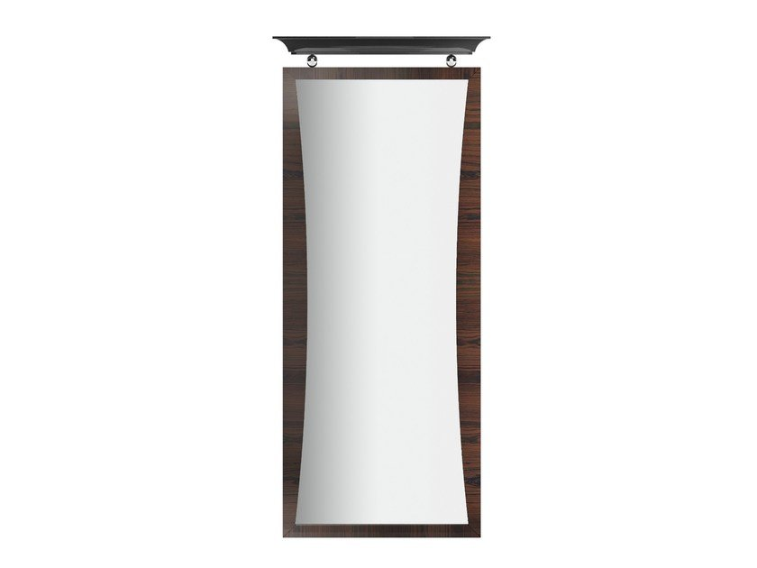 Rectangular wall-mounted framed mirror KORP R by Capital Collection
