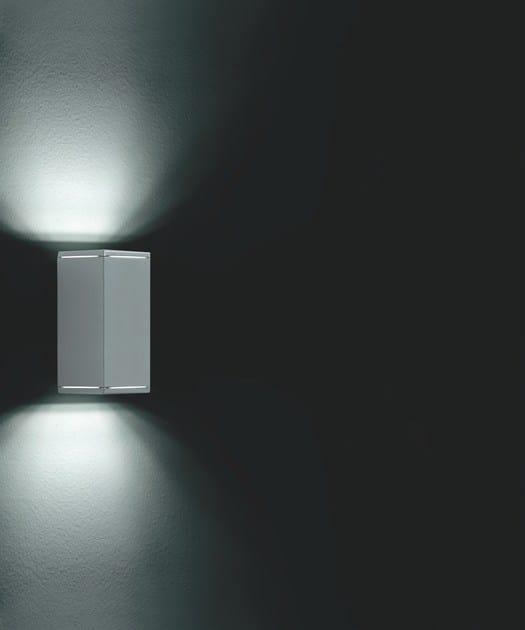 LED direct-indirect light extruded aluminium Wall Lamp KOS F.6877 - Francesconi & C.