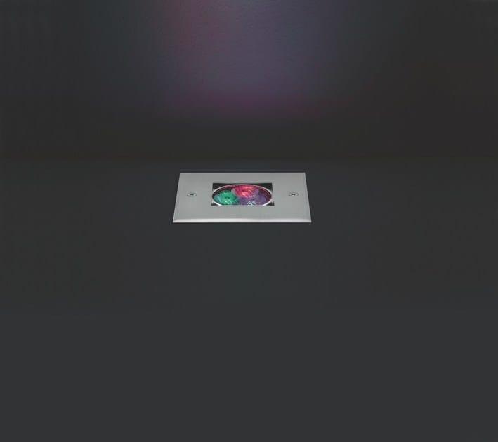 LED RGB aluminium Floor Light KOS F.881 - Francesconi & C.