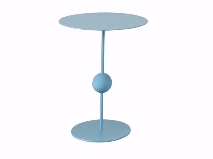 Round steel coffee table KOX - AZEA