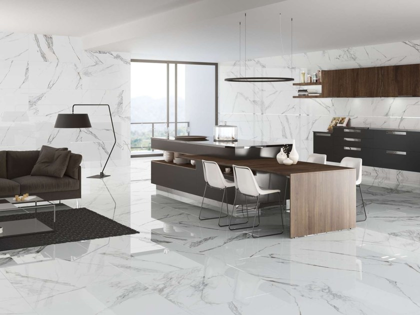 Porcelain stoneware wall tiles / flooring KRITIOS by Museum