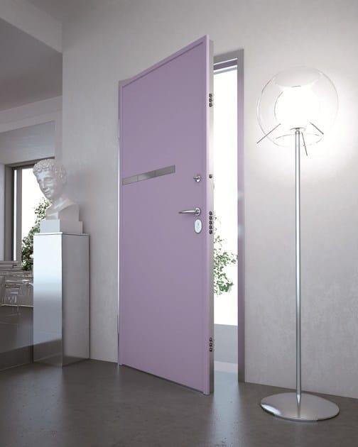Porta d 39 ingresso acustica blindata con serratura - Serratura elettronica porta blindata ...