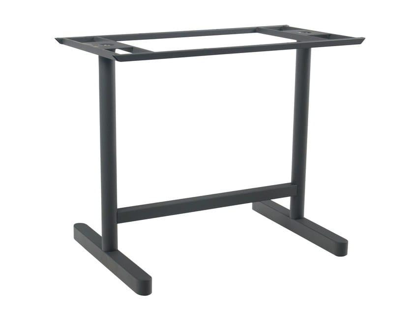 Metal table base KROSS II by Papatya