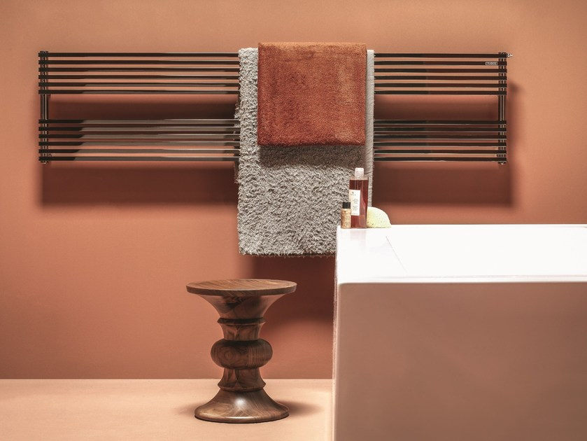 Hot-water wall-mounted towel warmer KUBIK | Towel warmer - Tubes Radiatori