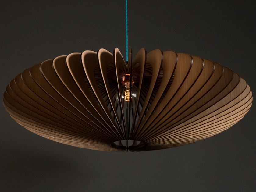 English oak pendant lamp KUHMO - Cameron Design House