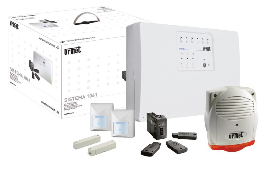 Anti-theft and security system Kit antifurto EASY IR by Urmet