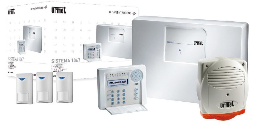 Anti-theft and security system Kit antintrusione Casa Basic 1067 - Urmet