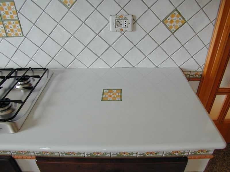 Glazed lava kitchen worktop Kitchen worktop - Sgarlata Emanuele & C.