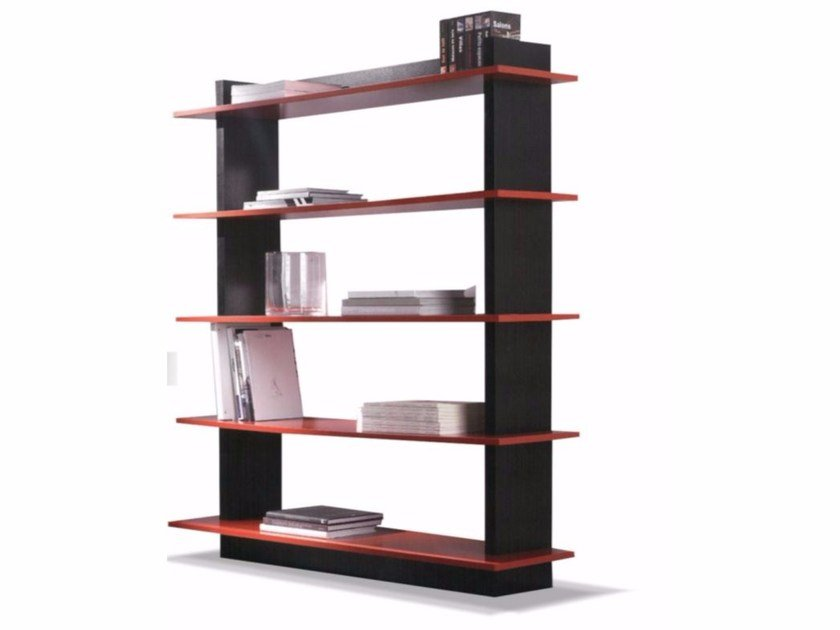 Open wall-mounted bookcase LÉA - FIRST TIME