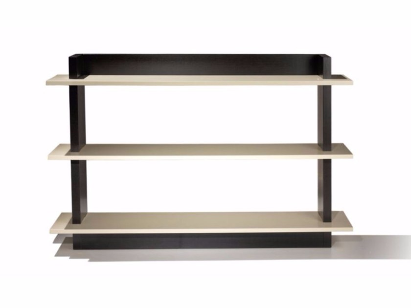 Lacquered rectangular MDF console table LÉA | Console table - FIRST TIME