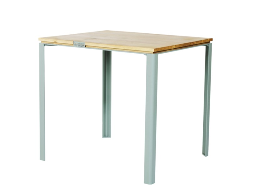 Solid wood dining table L | Dining table - HOOKL und STOOL