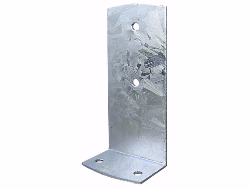 Galvanized steel Hardware for timber structures L-Shaped Support by Unifix SWG