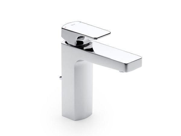 Washbasin mixer with aerator with pop up waste L90 | Countertop washbasin mixer - ROCA SANITARIO