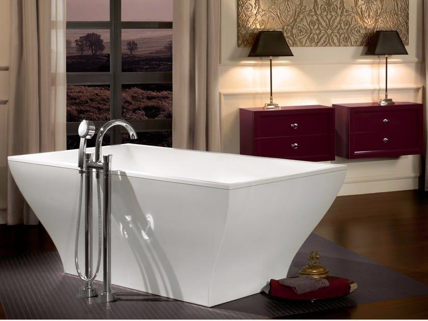 Vasca da bagno centro stanza in quaryl la belle vasca - Vasca da bagno villeroy e boch ...