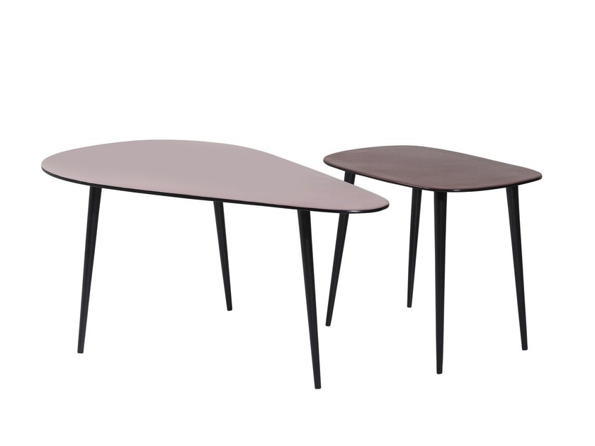 Aluminium coffee table LA COSTA - KARE-DESIGN