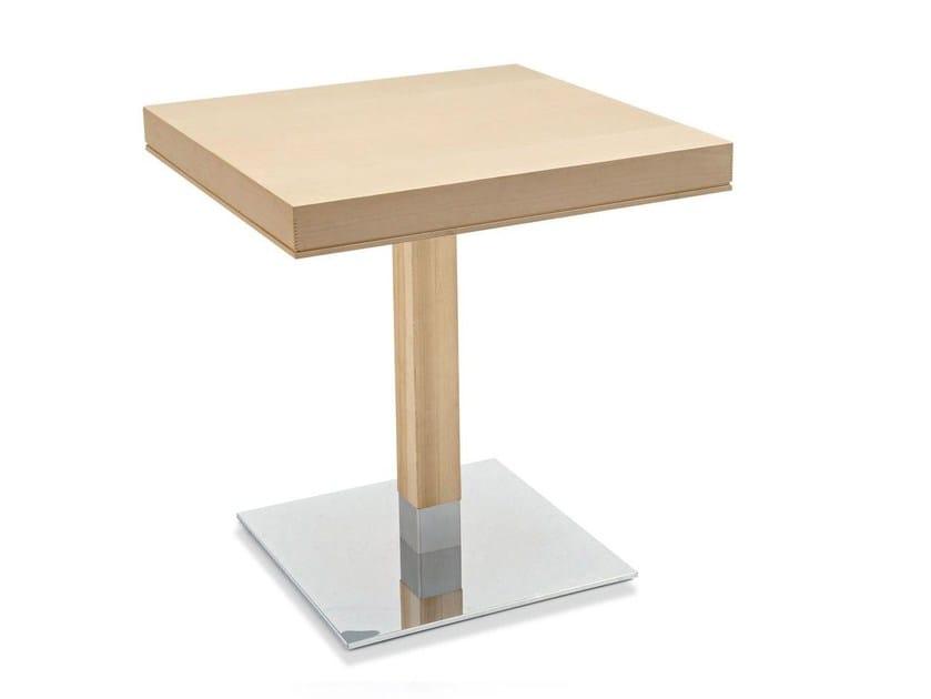 Tavolo da pranzo in legno impiallacciato LA LOCANDA | Tavolo - Calligaris