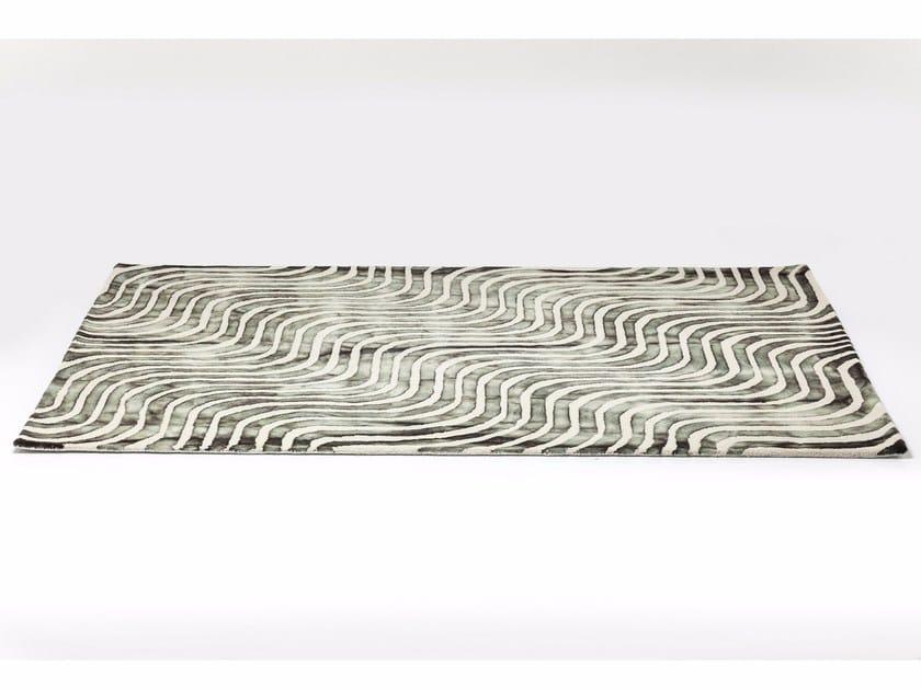 Rectangular cotton rug LA OLA GRAY by KARE-DESIGN