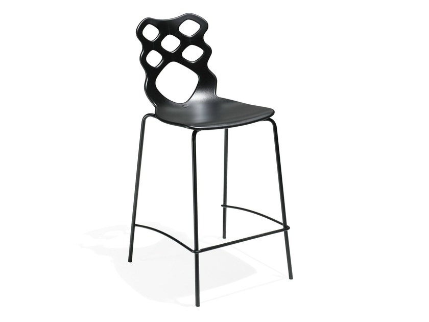 Technopolymer counter stool LACE | Counter stool - AREA DECLIC