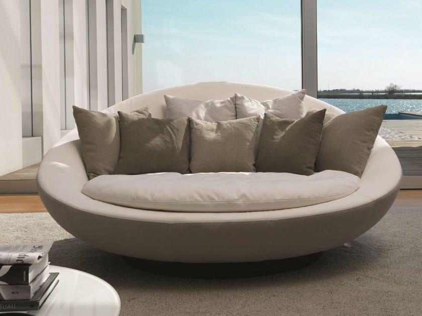 divano rotondo lacoon island by d sir e design jai jalan. Black Bedroom Furniture Sets. Home Design Ideas
