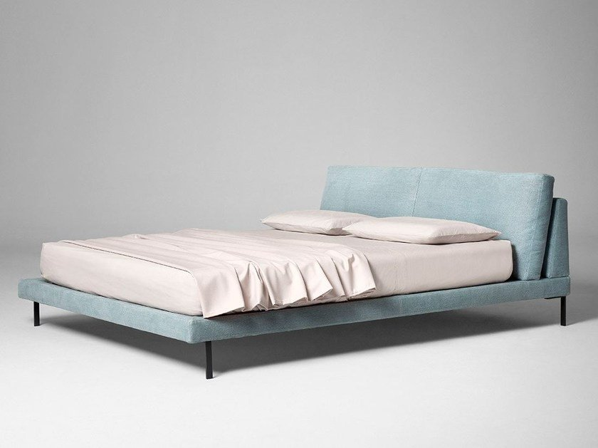Fabric double bed LADY B. - ALIVAR