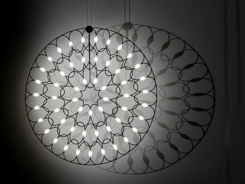 LED steel pendant lamp LAFRA | Pendant lamp - Sforzin Illuminazione