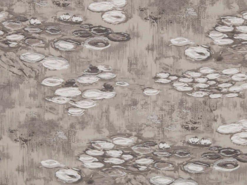Cotton fabric for curtains LAGO - Gancedo