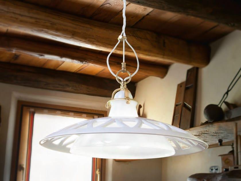 Ceramic pendant lamp LAGUNA | Ceramic pendant lamp - Aldo Bernardi
