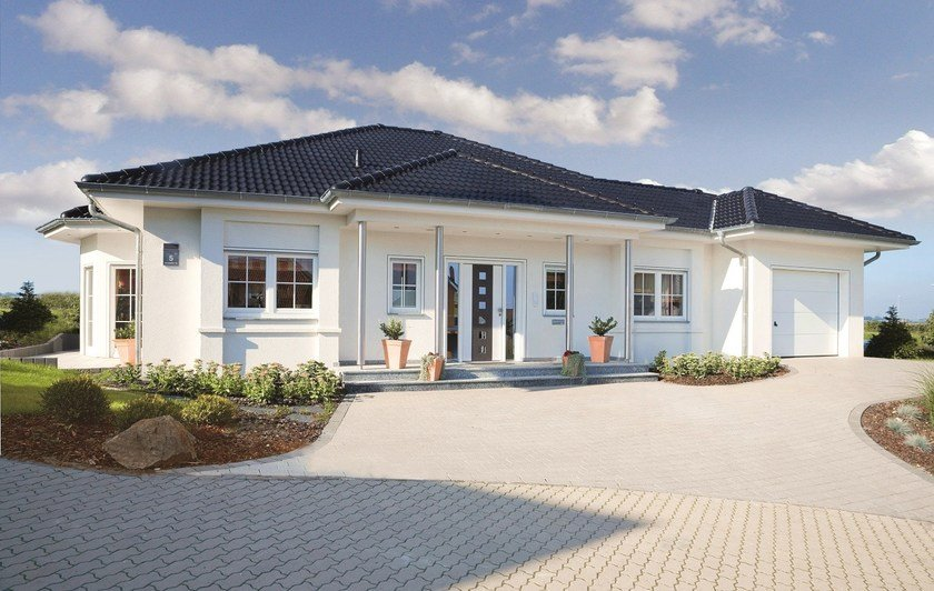 Casa prefabbricata in legno laguna spazio positivo for Piani casa bungalow con cantina e garage