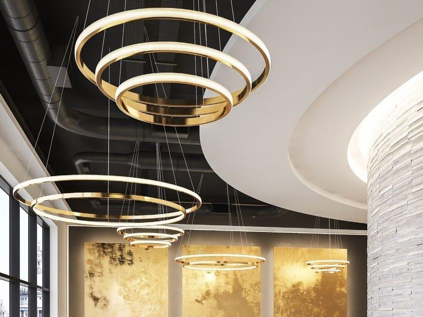 LED metal pendant lamp LAHTI - Cameron Design House