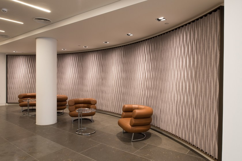 LAINE: CURVED Decorative acoustic panel