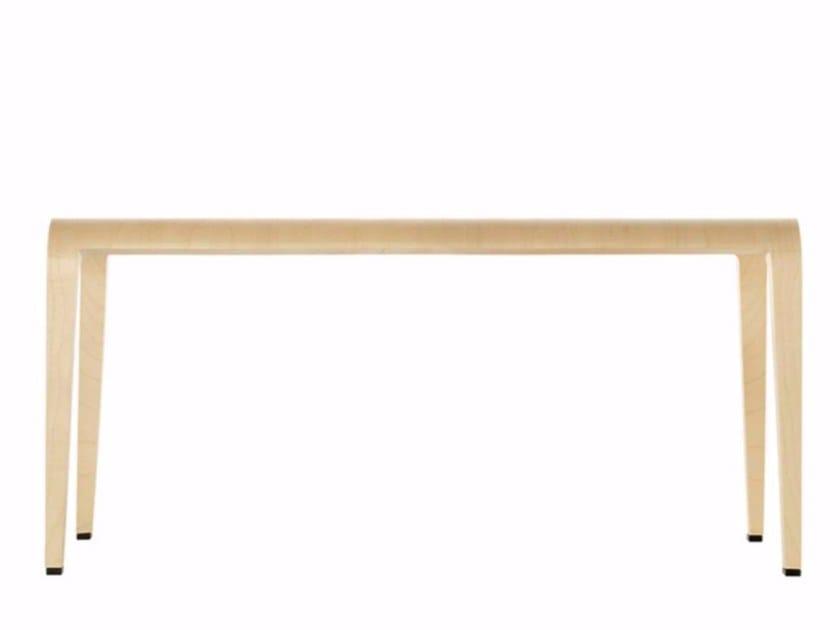 Wooden bench LALEGGERA BENCH - 307 - Alias