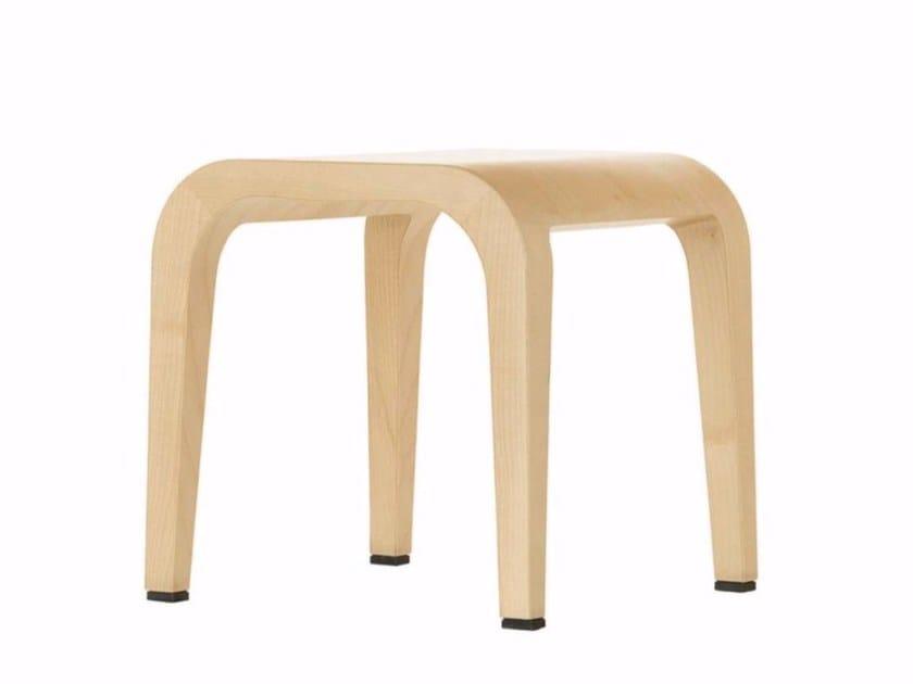 Wooden stool LALEGGERA LITTLE STOOL - 315 - Alias