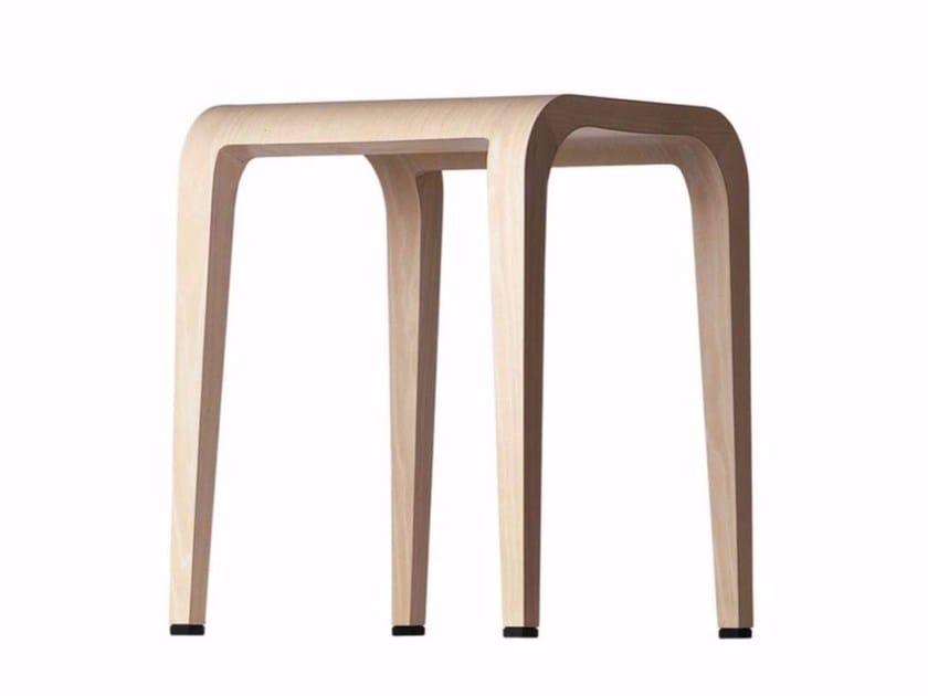 Wooden stool LALEGGERA STOOL - 310 - Alias