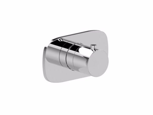 Single handle thermostatic shower mixer LAMÈ | Thermostatic shower mixer - Fantini Rubinetti